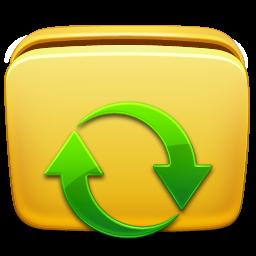 folder, subscription icon