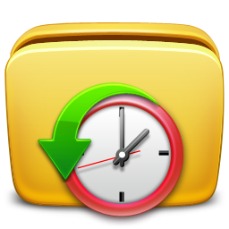 folder, history, url icon