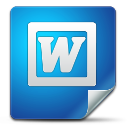 office, word icon