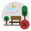 becareful, outdoor, outside, park, wrong icon
