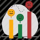 bad, fair, good, level, ranking, status icon