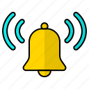 alert, bell, notification, notify icon