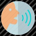 audio, podcast, sound, voice icon