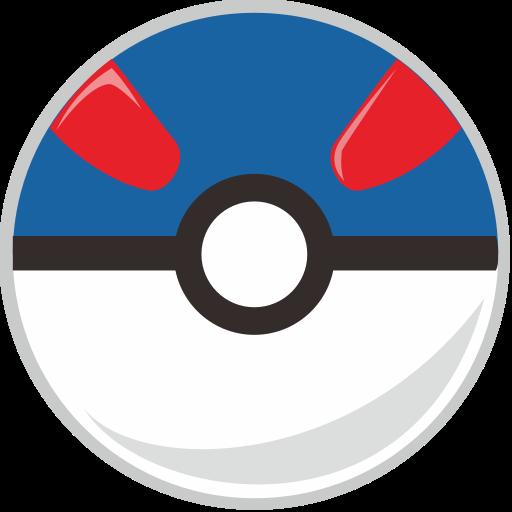 ball, great, pocket, pocket monster icon