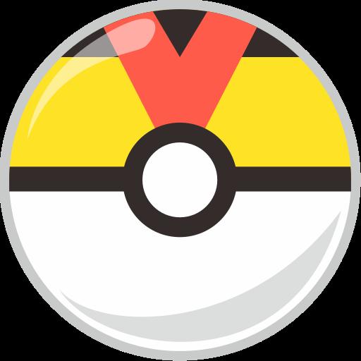 ball, level, pocket, pocket monster icon