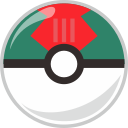 ball, lure, pocket, pocket monster icon