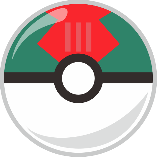 ball, lure, pocket, pocket monster icon