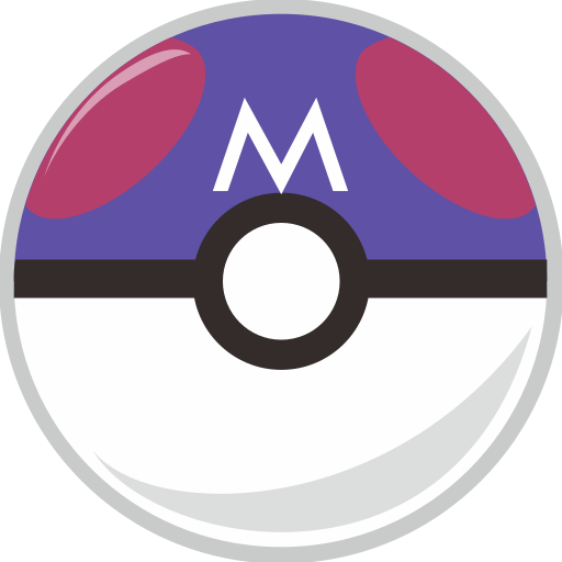 ball, master, pocket, pocket monster icon