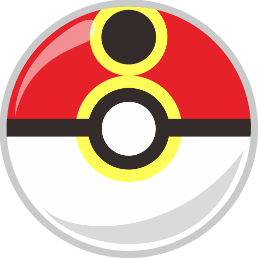 ball, pocket monster, poke, repeat icon
