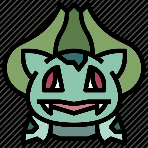 boobasaurus, game, gaming, gartoon, nintendo, pokemon, video icon
