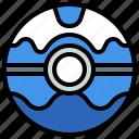 ball, dive, game, nintendo, people, pokemon, video icon