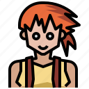 avatar, game, kasumi, nintendo, people, pokemon, video icon