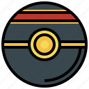 ball, game, luxury, nintendo, people, pokemon, video icon