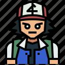 avatar, game, nintendo, people, pokemon, satoshi, video icon