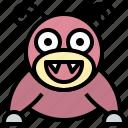 game, gaming, gartoon, nintendo, pokemon, slowpoke, video icon