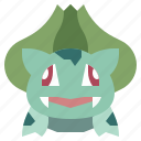 boobasaurus, game, gaming, gartoon, nintendo, pokemon, video icon
