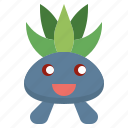 game, gaming, gartoon, nintendo, oddish, pokemon, video icon