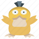 game, gaming, gartoon, nintendo, pokemon, psyduck, video icon