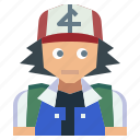 avatar, game, nintendo, people, pokemon, satoshi, video icon