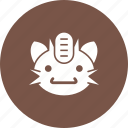app, fun, game, meowth, play, shape, smartphone icon