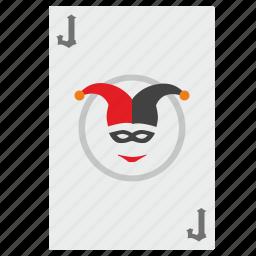 card, gamble, game, j, joker icon