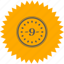 coin, nine, number, position, room