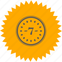 coin, number, position, room, seven icon