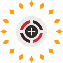 gamble, game, risk, roulette icon