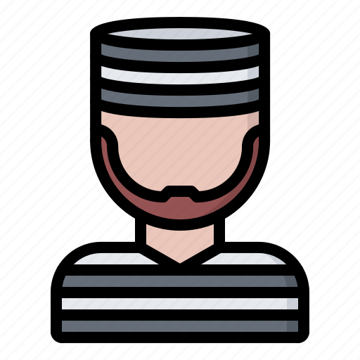 criminal, jail, justice, law, police, prison, prisoner icon