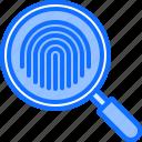 finger, fingerprint, justice, law, magnifier, police, search