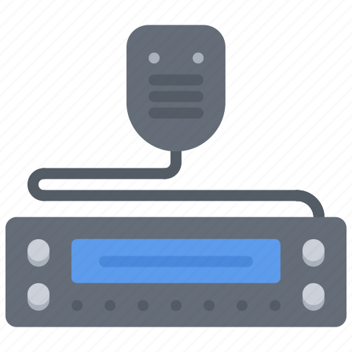 Justice, law, police, radio, talkie, walkie icon - Download on Iconfinder