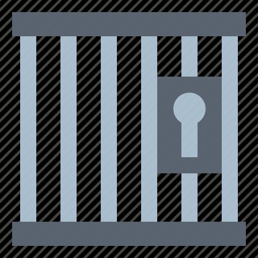 jail, padlock, police, prison icon