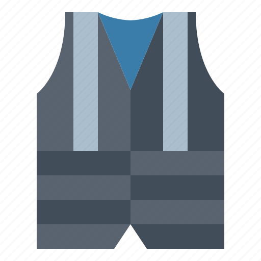 safety, security, vest icon