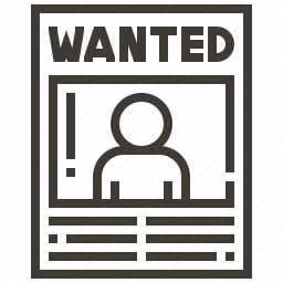 justice, law, police, policeman, security, wanted icon