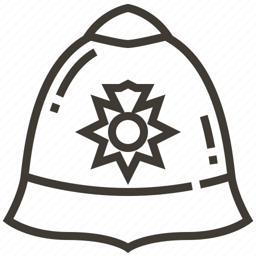 hat, justice, law, police, policeman, security icon