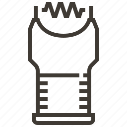 electroshock, justice, law, police, policeman, security, weapon icon