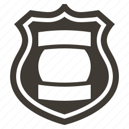 badge, justice, law, police, policeman, protection, security icon