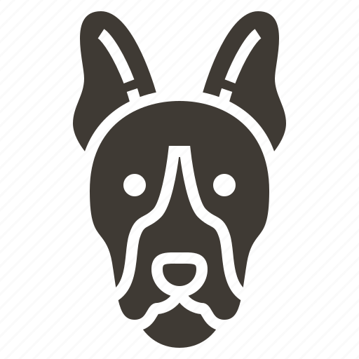 dog, justice, law, police, policeman, protection, security icon