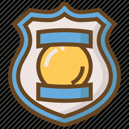 badge, cop, justice, law, police, policeman, security icon