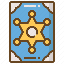 badge, cop, justice, law, police, policeman, security icon