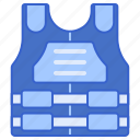 bulletproof, vest icon