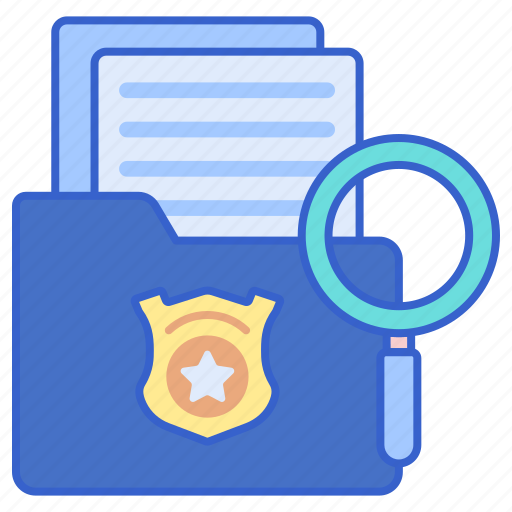 Casefile, justice, law icon - Download on Iconfinder