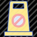 cone, justice, law icon