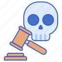 death, justice, penalty icon