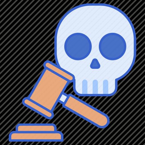 death, justice, penalty icon