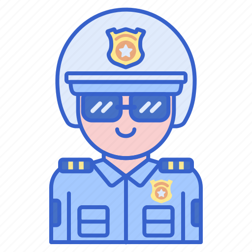 highway, justice, law, police icon
