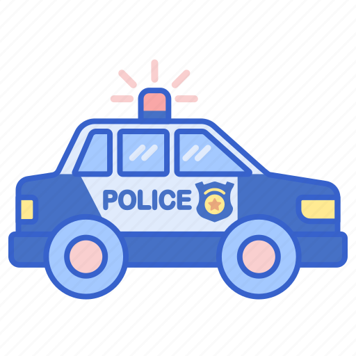 Cruiser, police, vehicle icon - Download on Iconfinder