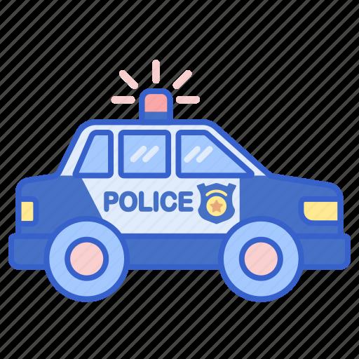 cruiser, police, vehicle icon