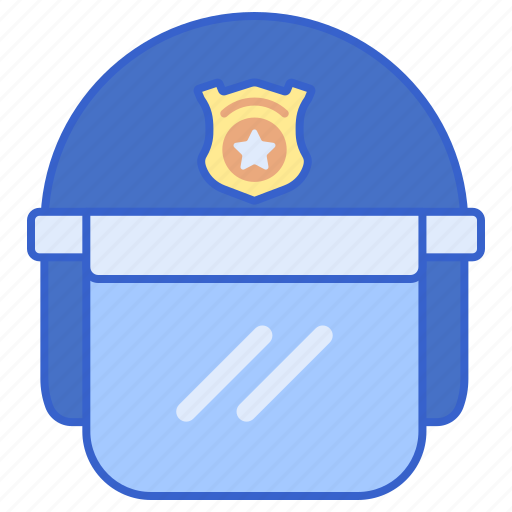 Helmet, justice, law, police icon - Download on Iconfinder
