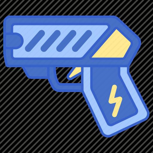 Gun, police, taser icon - Download on Iconfinder